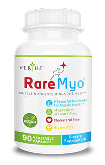RareMyo Vegan Supplement for Muscle Nutrients