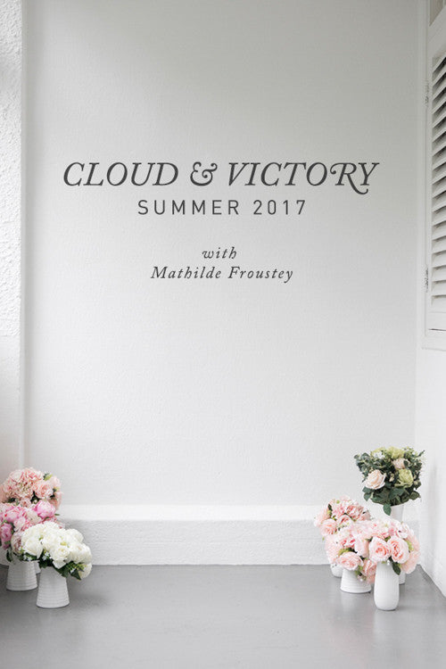 Cloud & Victory Summer 2017 dancewear, modelled by ballerina Mathilde Froustey