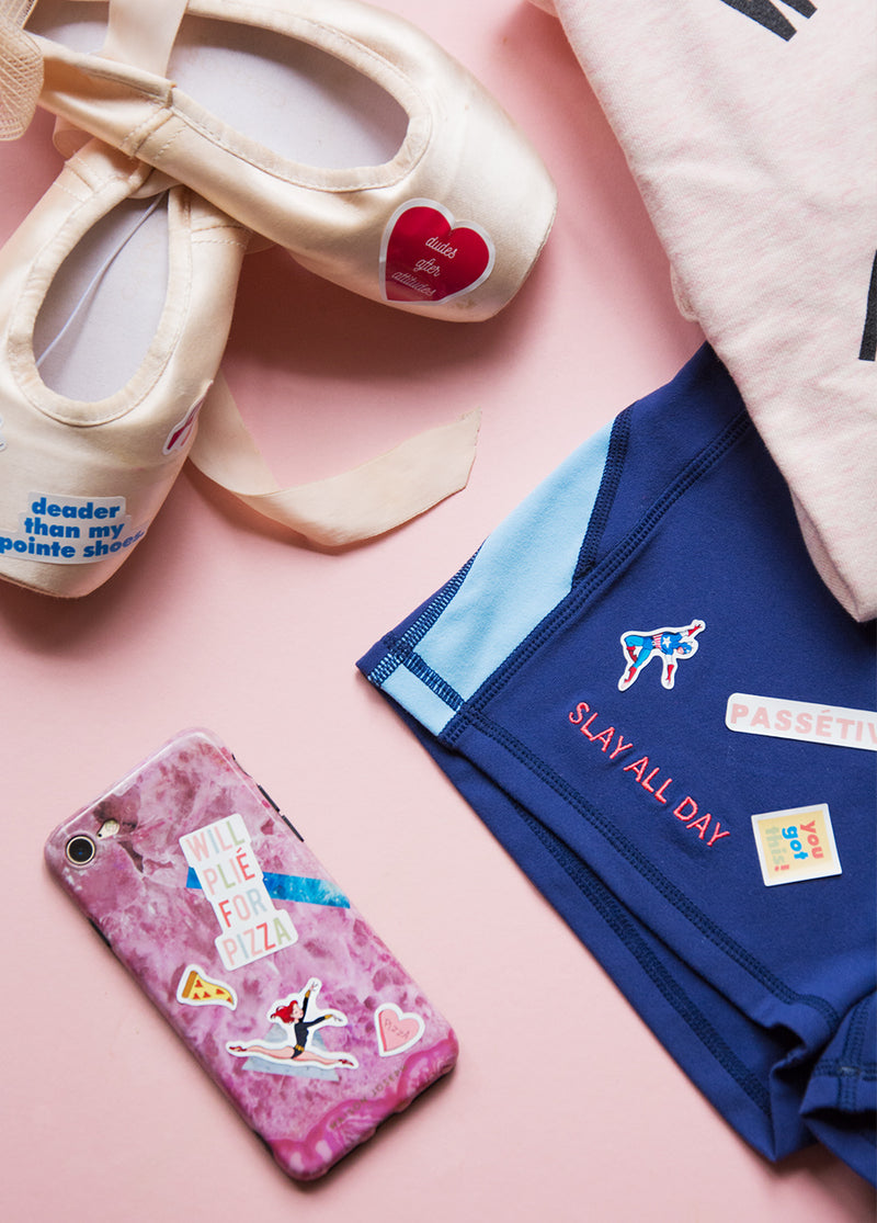 Stickers! - Ethical dancewear and ballet clothing by Cloud and Victory