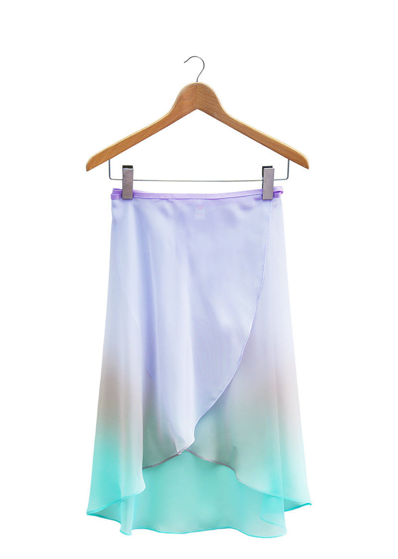 The Ombré Rehearsal Skirt - Unicorn - Ethical dancewear and ballet clothing by Cloud and Victory