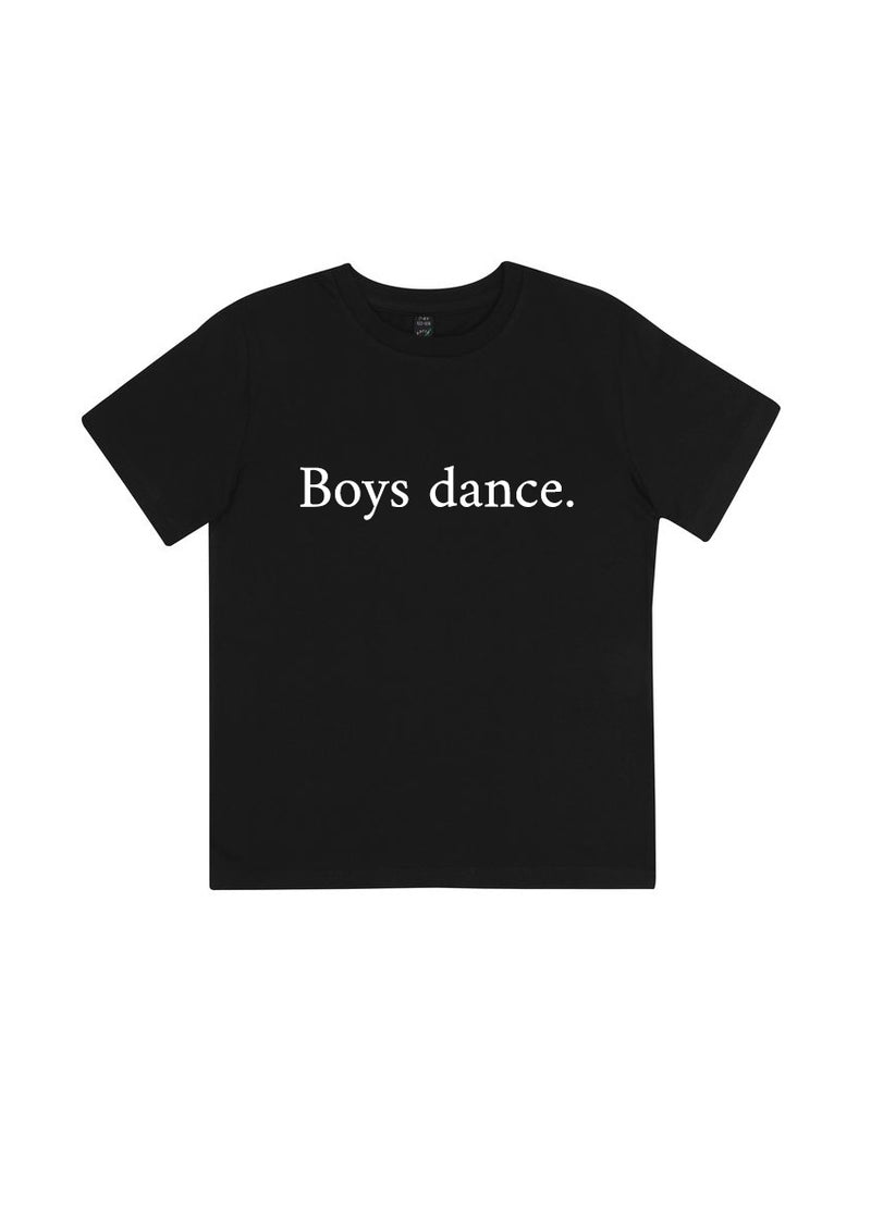 The Boys Dance Tee - Kid's - Ethical dancewear and ballet clothing by Cloud and Victory