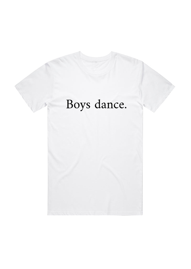 The Boys Dance Tee - Unisex - Ethical dancewear and ballet clothing by Cloud and Victory