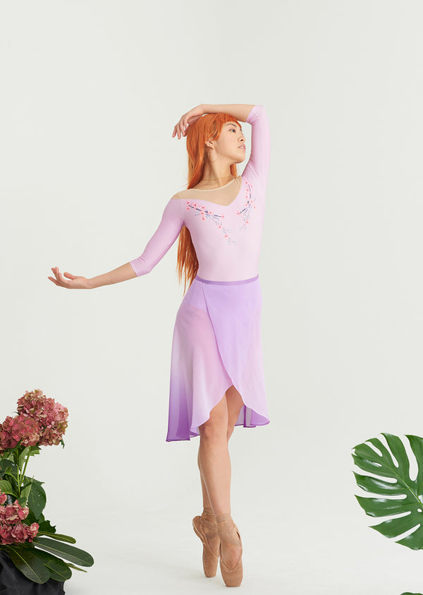 The Sakura Leotard - Ethical dancewear and ballet clothing by Cloud and Victory