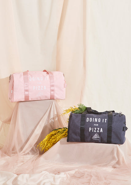 The Doing It For Pizza Dance Bag - Cloud & Victory Ethical Ballet Clothing and Dancewear