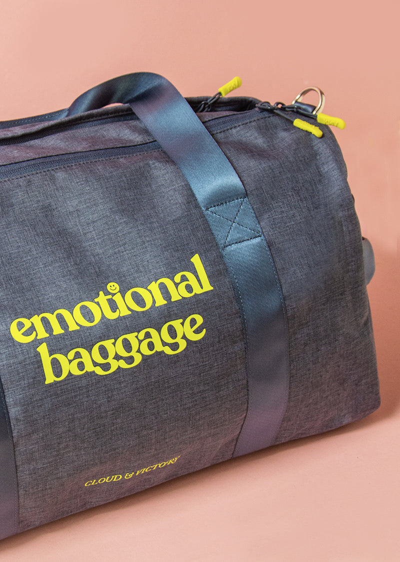 The Emotional Baggage Dance Bag - Ethical dancewear and ballet clothing by Cloud and Victory