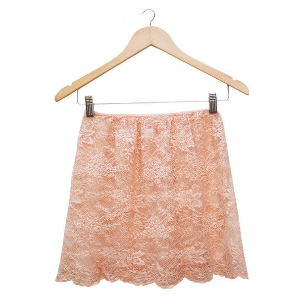 The Japanese Lace Skirt - Peach