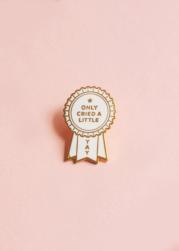 I Only Cried A Little Today Pin - Ethical dancewear and ballet clothing by Cloud and Victory