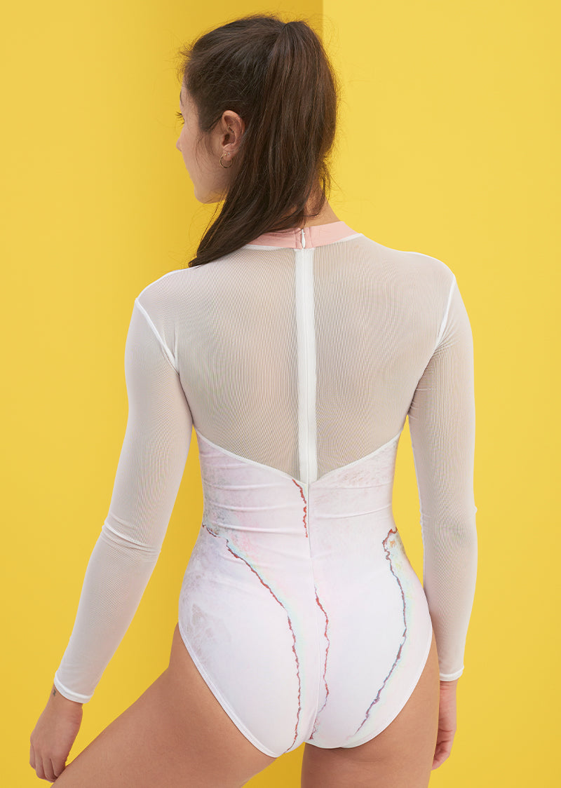 The Pearl Leotard - Ethical dancewear and ballet clothing by Cloud and Victory