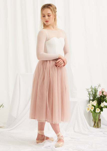 d4b337b884 ... The Tulle Skirt - Rose Quartz - Ethical dancewear and ballet clothing  by Cloud and Victory