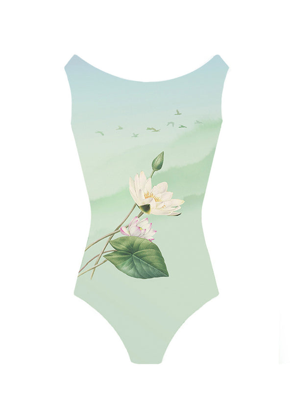 The Serenity Leotard - Ethical dancewear and ballet clothing by Cloud and Victory