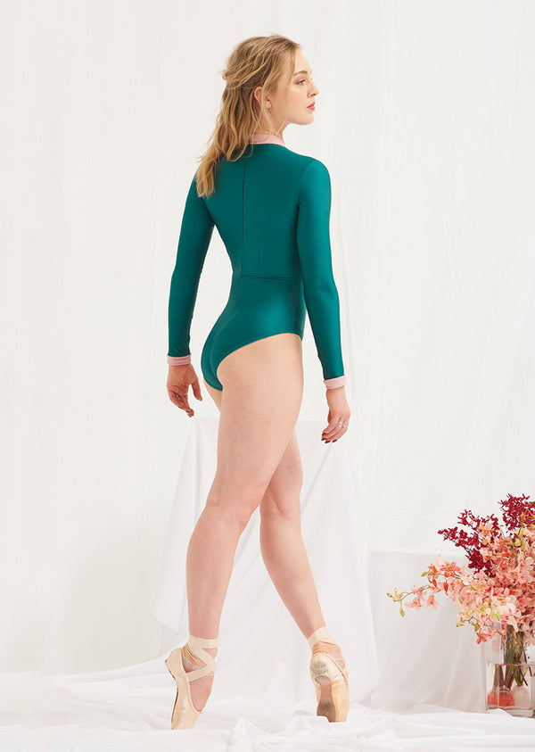 The Empress Leotard - Ethical dancewear and ballet clothing by Cloud and Victory