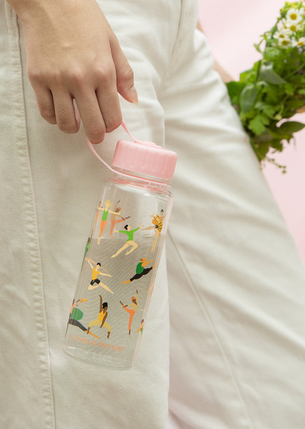 Every Body Dance Water Bottle - Ethical dancewear and ballet clothing by Cloud and Victory