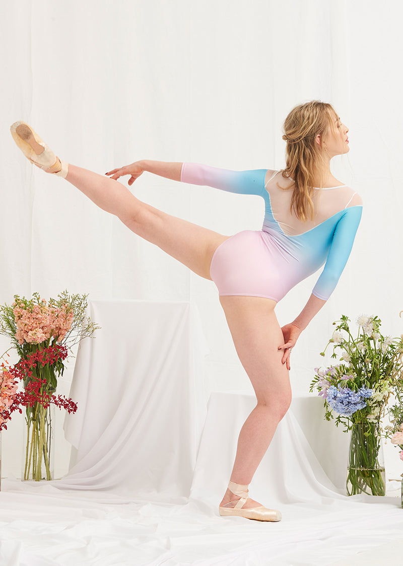 The Fairy Lights Leotard - Ethical dancewear and ballet clothing by Cloud and Victory