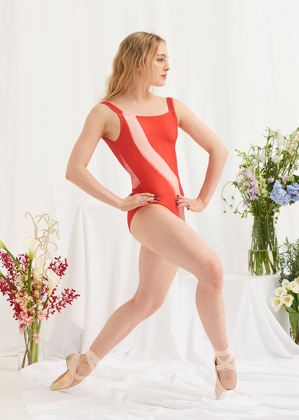 The Glide Leotard - Cloud & Victory