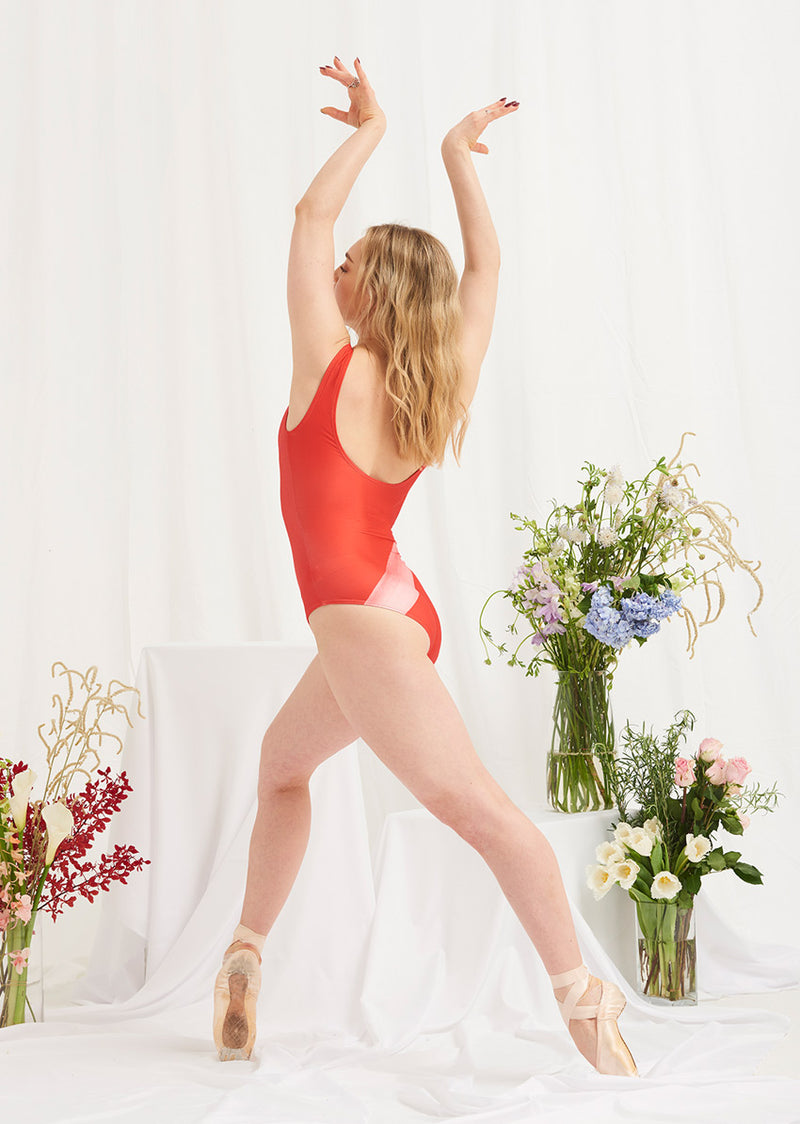 The Glide Leotard - Ethical dancewear and ballet clothing by Cloud and Victory