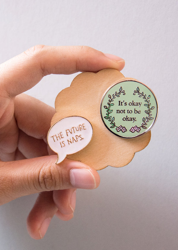 The Self-Care Pin Set - Ethical dancewear and ballet clothing by Cloud and Victory