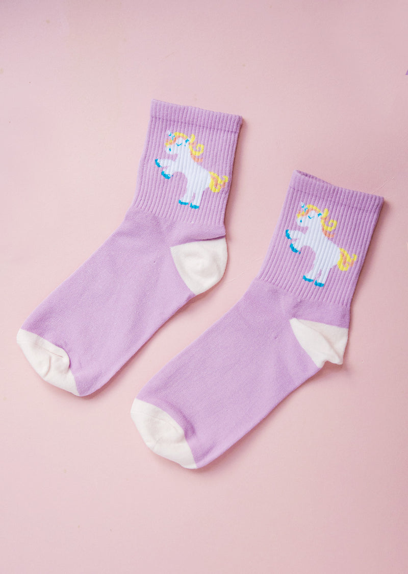 Unicorn Socks - Ethical dancewear and ballet clothing by Cloud and Victory
