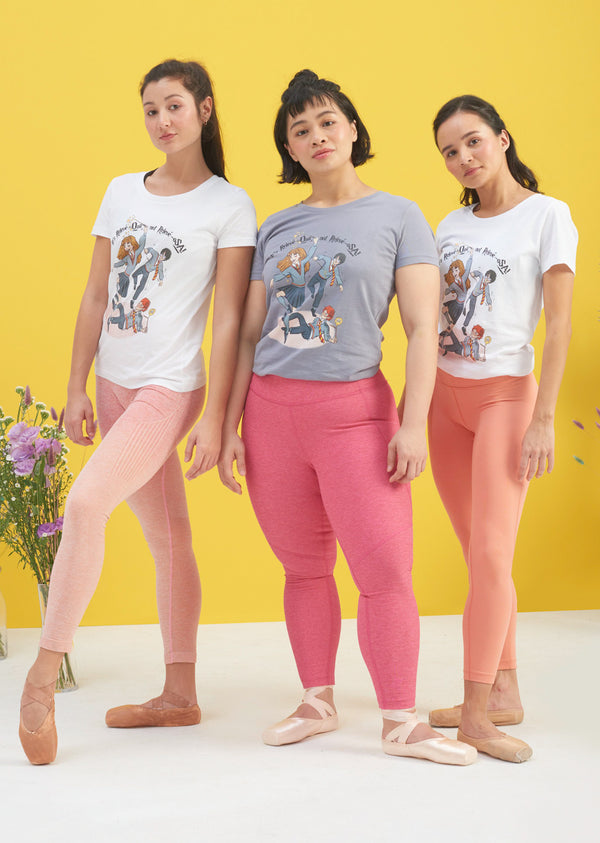 Wingardium Releviosa Tee - Ethical dancewear and ballet clothing by Cloud and Victory