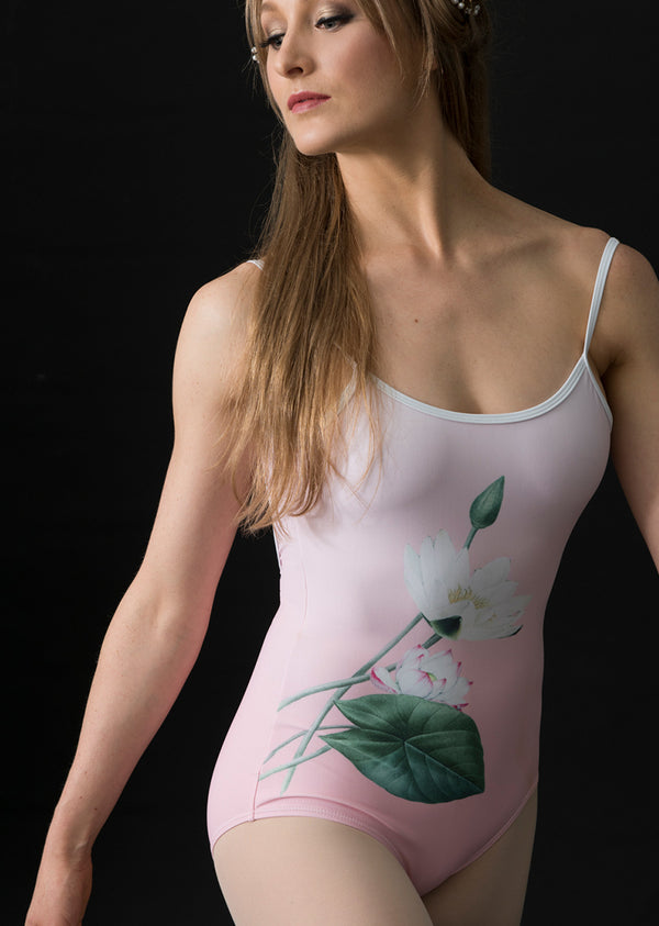 The Lotus Leotard - Ethical dancewear and ballet clothing by Cloud and Victory