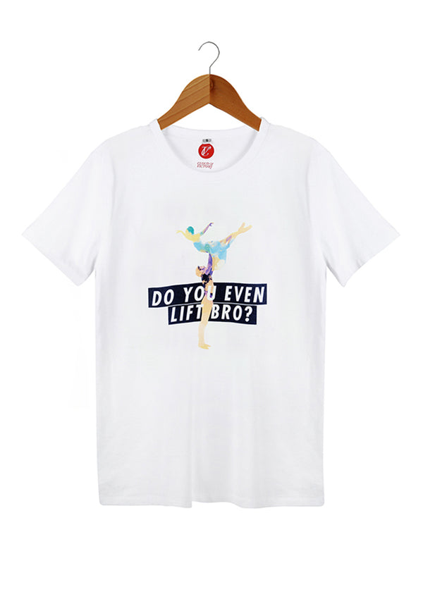 The Do You Even Lift Shirt - Ethical dancewear and ballet clothing by Cloud and Victory