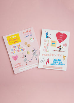 Ballet Sticker Pack! - Ethical dancewear and ballet clothing by Cloud and Victory