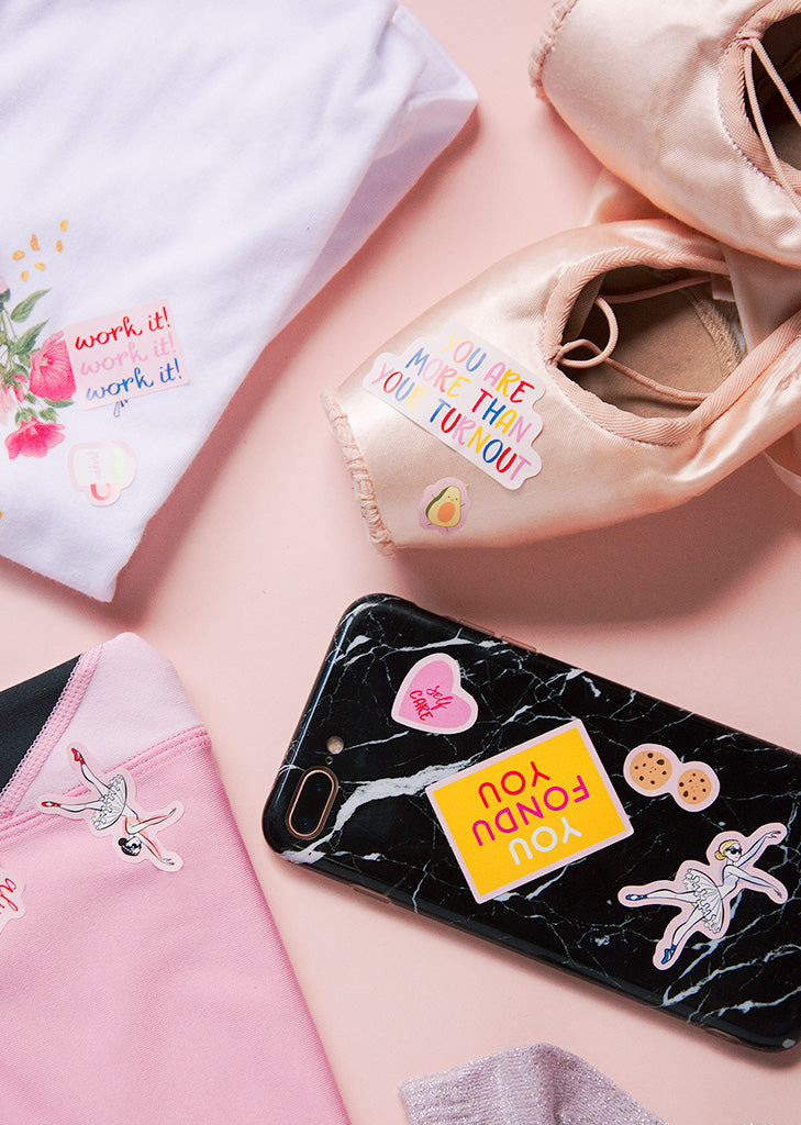More Stickers! - Ethical dancewear and ballet clothing by Cloud and Victory