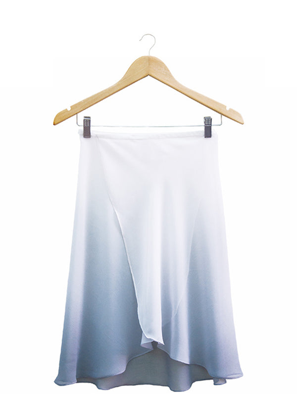 The Ombré Rehearsal Skirt - Swan - Cloud & Victory