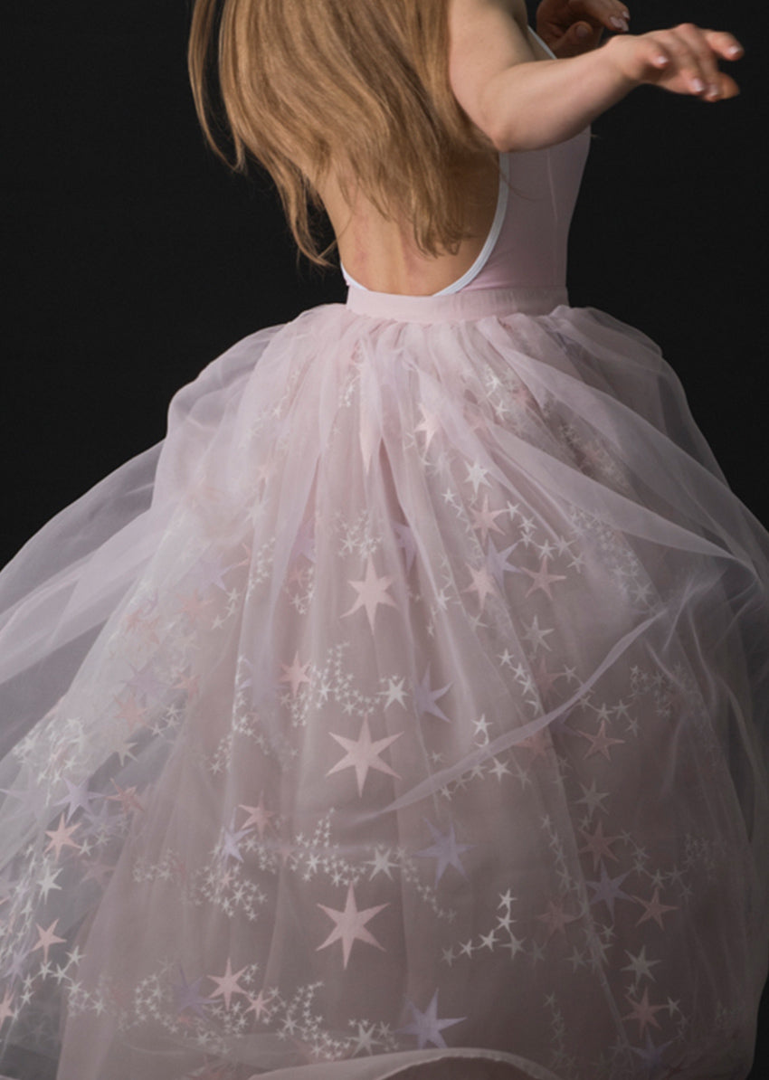 The Constellation Tulle Skirt - Long - Cloud & Victory Online Ballet Clothing and Dancewear
