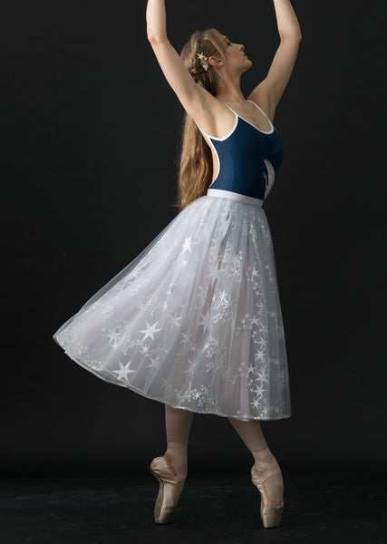 The Constellation Tulle Skirt - Cloud & Victory Ethical Ballet Clothing and Dancewear