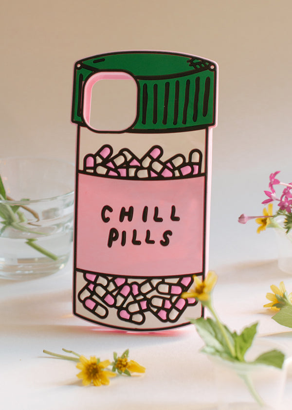 The Chill Pill iPhone Case - Cloud & Victory