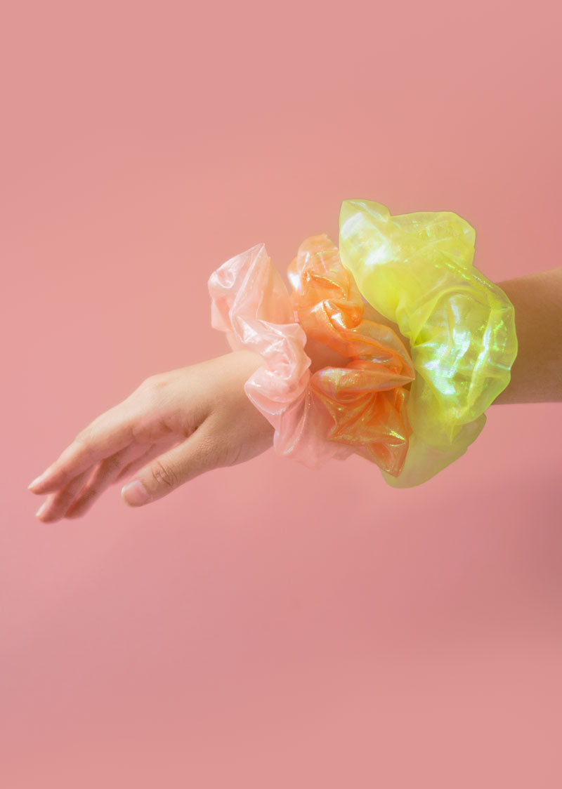 Cloud Scrunchie Pack - Ethical dancewear and ballet clothing by Cloud and Victory