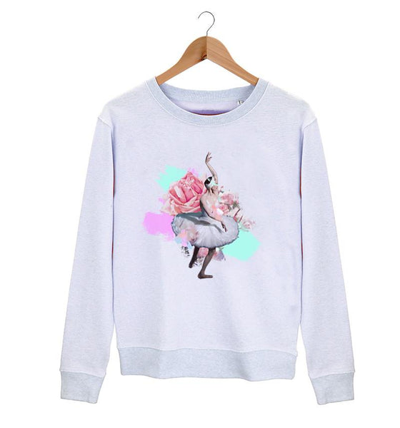 The Swan Queen Sweater - Cloud & Victory Online Ballet Clothing and Dancewear