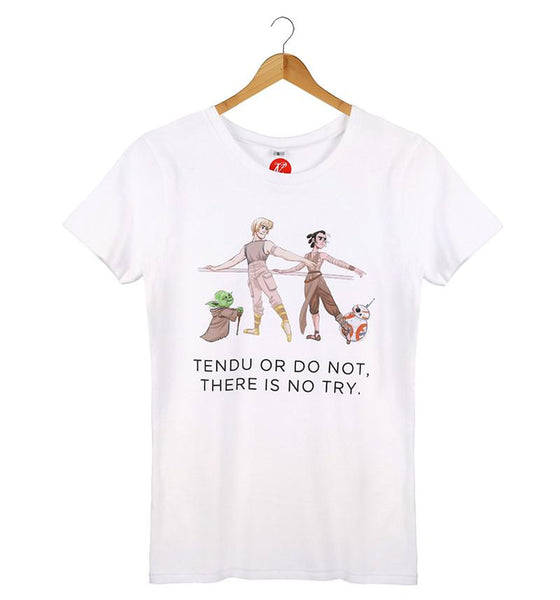 The Tendu or Do Not Tee - Cloud & Victory Online Ballet Clothing and Dancewear
