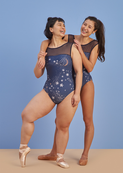 The Constellation Leotard - Ethical dancewear and ballet clothing by Cloud and Victory