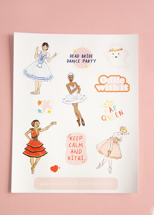 Ballet Heroine Stickers - Cloud & Victory