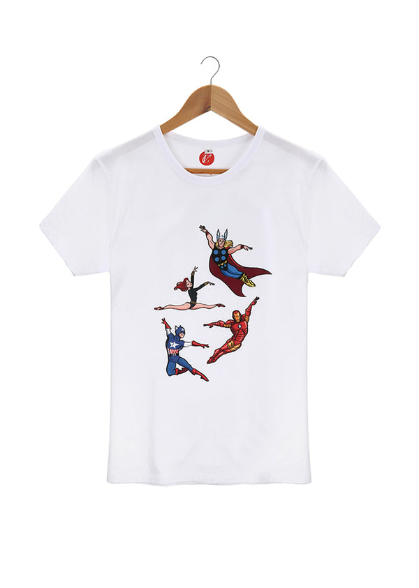 The Assemblé Unisex Tee - Ethical dancewear and ballet clothing by Cloud and Victory