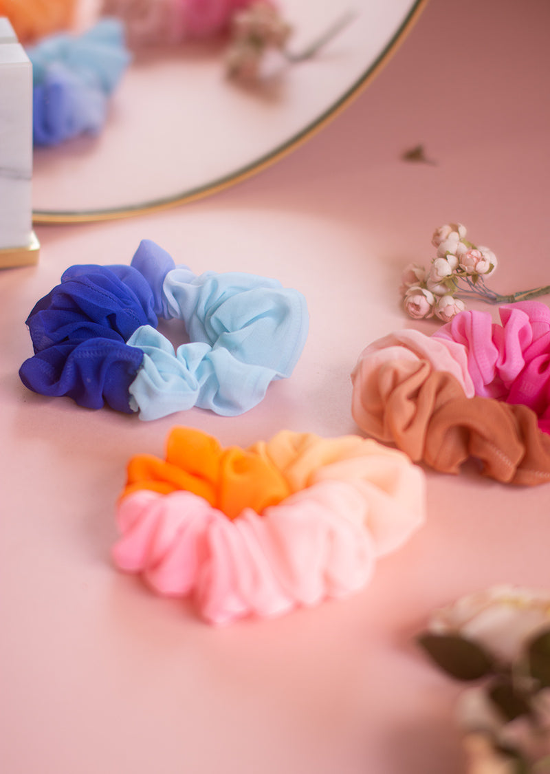 Ombré Scrunchie Pack - Ethical dancewear and ballet clothing by Cloud and Victory