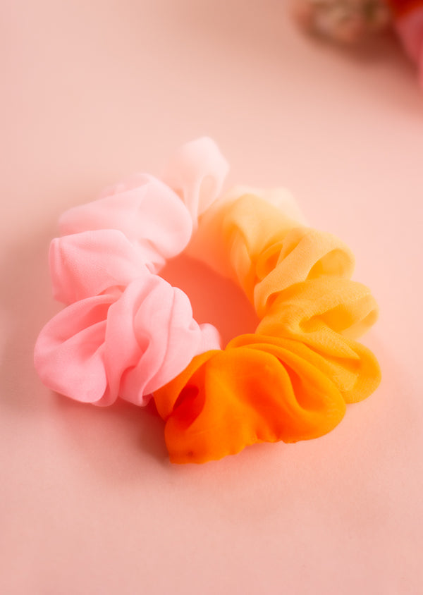Ombré Scrunchie - Ethical dancewear and ballet clothing by Cloud and Victory