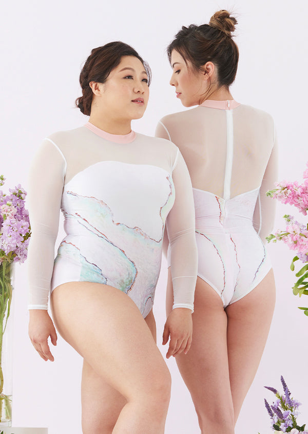 The Pearl Leotard - Cloud & Victory