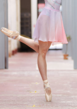 The Pull-On Ballet Skirt - Aurora - Ethical dancewear and ballet clothing by Cloud and Victory