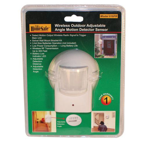 HomeSafeu00ae Outdoor Wireless  Motion Sensor - Safety Gizmo
