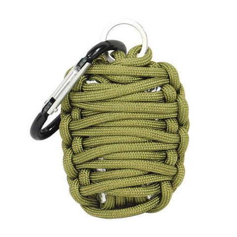 Paracord Grenade Survival Kit - Safety Gizmo