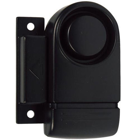 Magnetic Door Alarm Black - Safety Gizmo