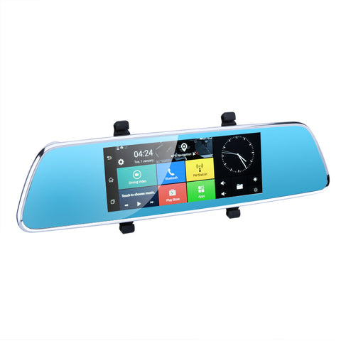 Full-HD Rearview Mirror Car DVR