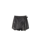 Mosi Mini Cross Skirt