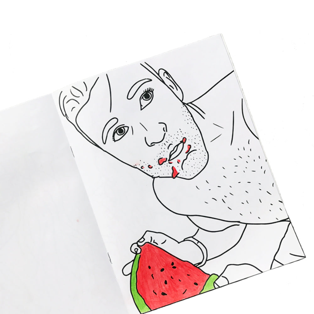 - The First Ever Custom Coloring Book As Seen On BuzzFeed – Color