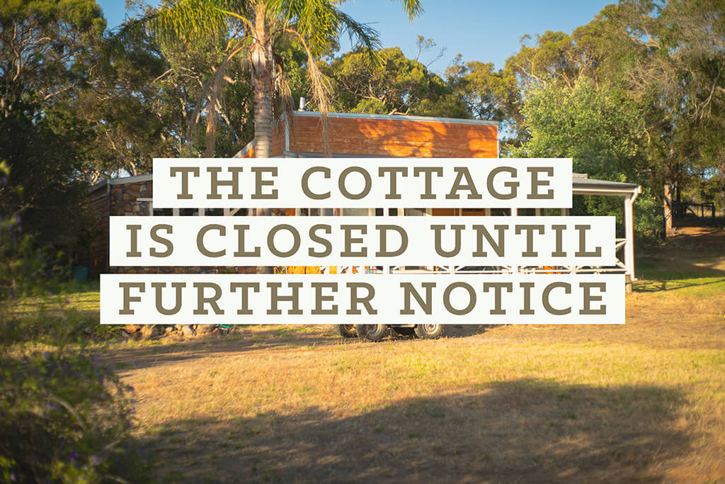 The Gamekeepers Cottage is closed until further notice