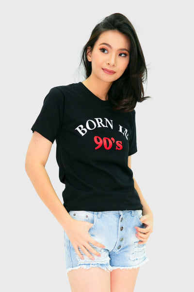 Black born in 90's shirt