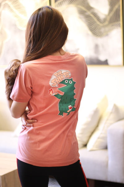 Pink croco the shirts