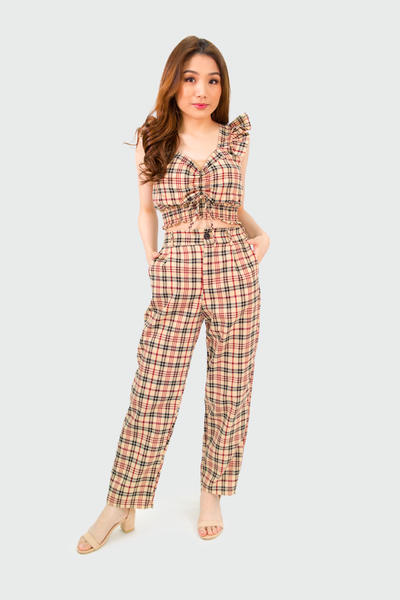 Burberry Padded Crop and Pants Coordinates